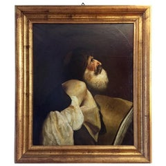 19th Century Italian Saint James Painting after Rococo Piazzetta s Martyrdom