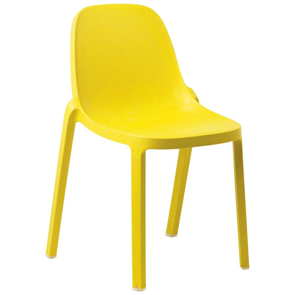 Emeco Broom Stacking Chair in Yellow by Philippe Starck