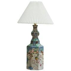 Bjorn Wiinblad, Rare Large Unique Table Lamp