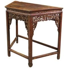 Oriental Table, Wood, 19th Century