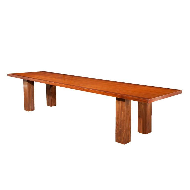 Mid Century Modern, Italian Large Desk, cons or entrance  table by Roberto Poggi For Sale
