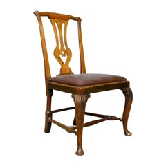 Georgian Antique Chair, English, Mahogany, Mid-18th Century