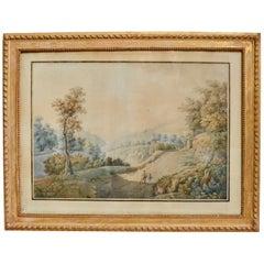 Peter Birman, Landscape from Tivoli, Italy