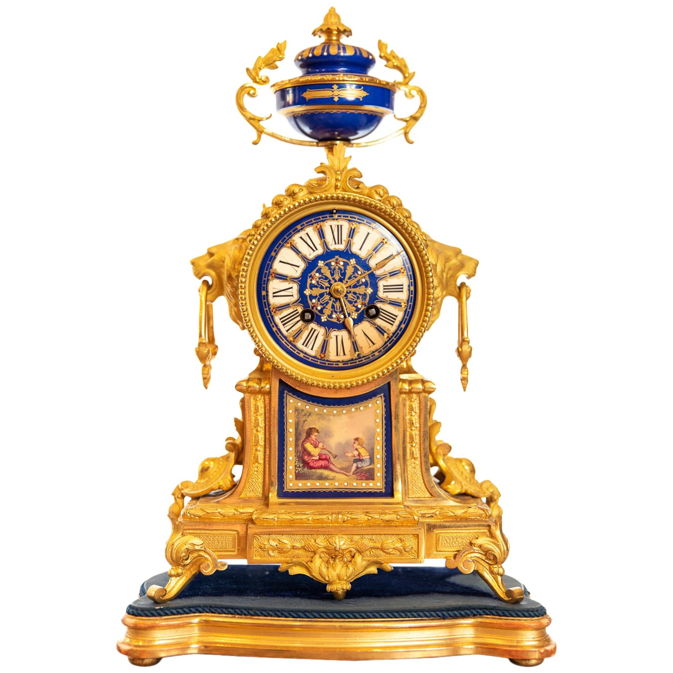 19th Century French Ormolu Clock