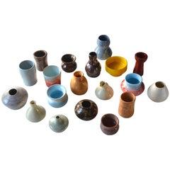 Lot of 19 Ceramic Vases