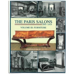 """The Paris Salons"", 1895-1914 Furniture 'Book'"