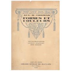 FORMES ET COULEURS, 20 Art Deco Pochoir Plates from 1920's.