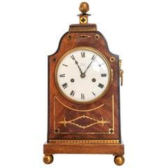 Mahogany 8 Day Striking Regency Table or Bracket Clock