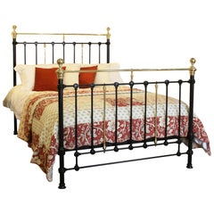 Victorian Cast and Iron Bed, MK177