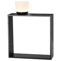 Flos Gaku Wireless Table Lamp in Black by Nendo