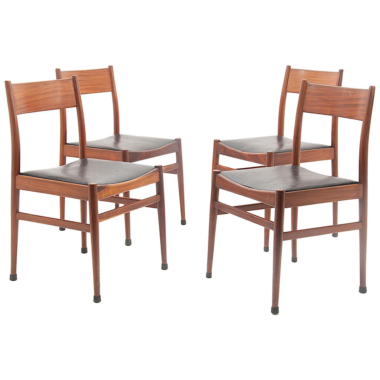 Italian Chairs By Consorzio Sedie Friuli For Sale