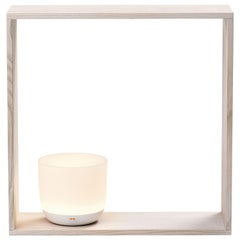 Flos Gaku Wireless Table Lamp in White by Nendo