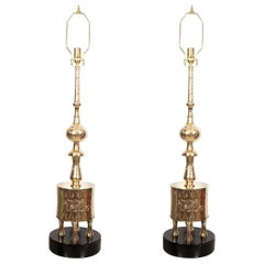 """Pair of """"Ottoman"""" Style Table Lamps"""