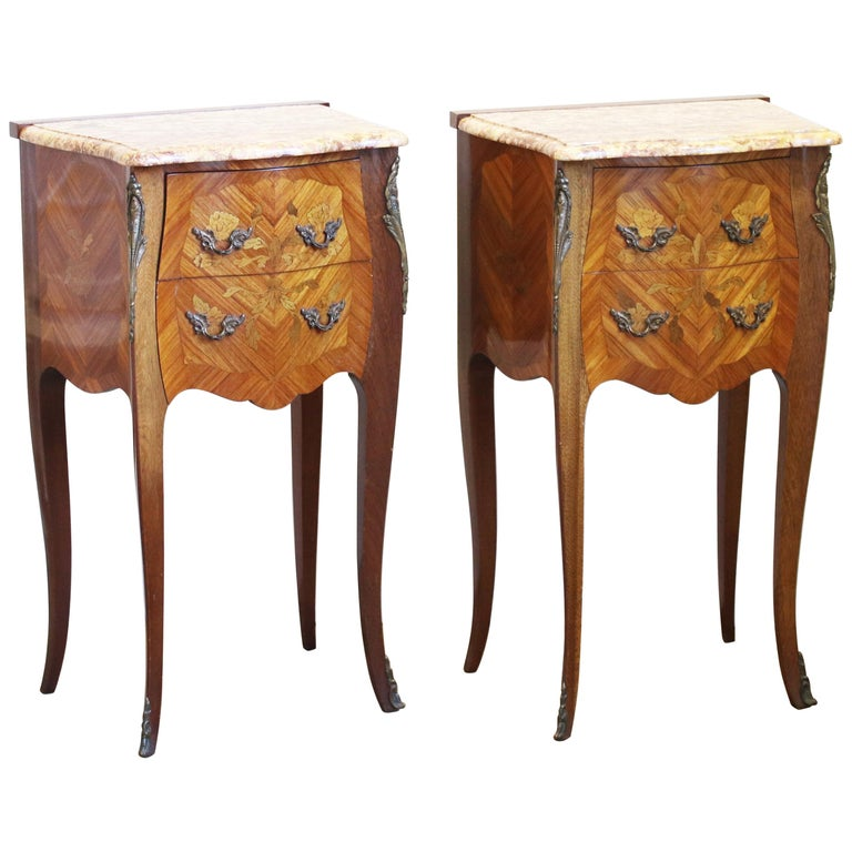 Pair of Bedside Tables PBT5 For Sale