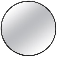 Flos Gaku Mirror in Black by Nendo
