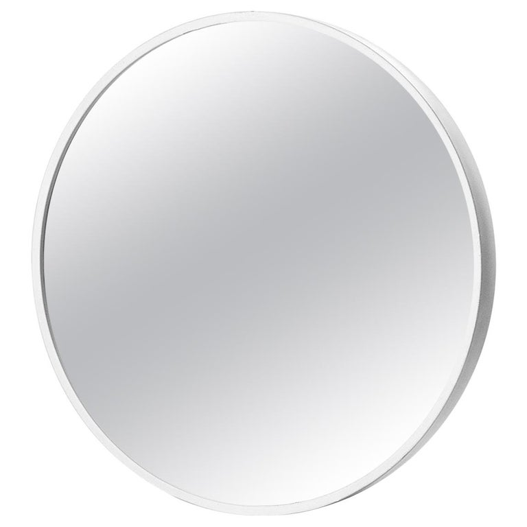 Flos Gaku Mirror in White by Nendo For Sale