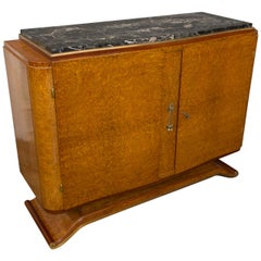 Small French Art Deco Sideboard