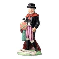 Staffordshire Pottery Pearlware Figure of John Liston as Lubin Log