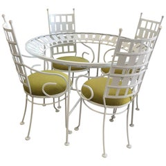 Arthur Umanoff Patio Set Vintage 1960s