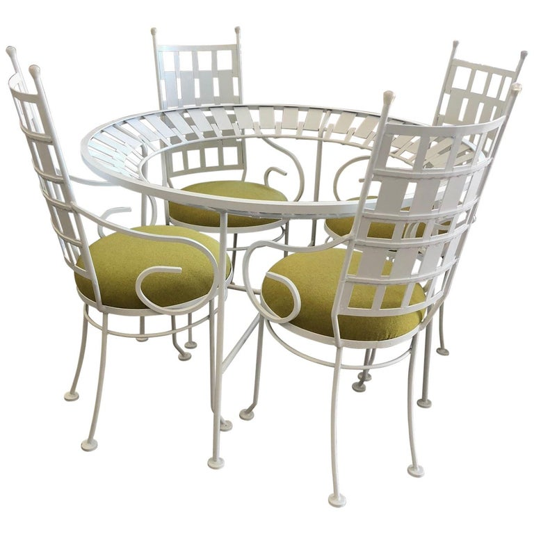 Arthur Umanoff Patio Set Vintage 1960s For Sale