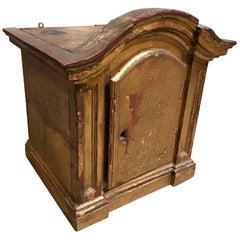 Italian Gilt Reliquary Box