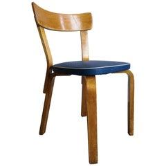Alvar Aalto/Artek Original Vinyl Upholstered Chair Model 69, 1950s