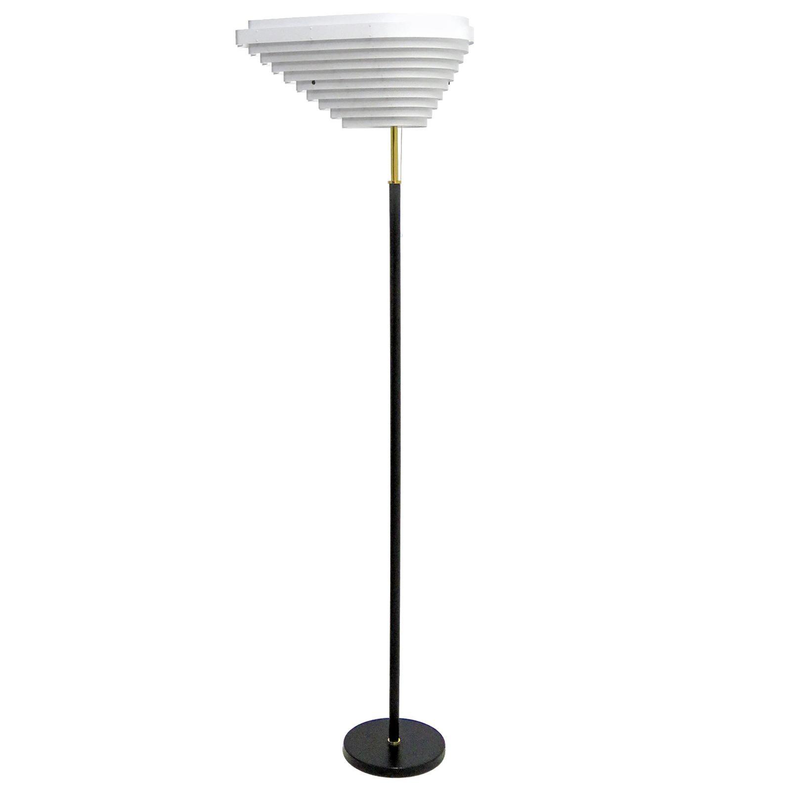 Alvar Aalto Model A805 'Angel Wing' Floor Lamp