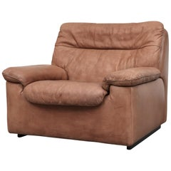 De Sede DS 66 Natural Leather Lounge Chair