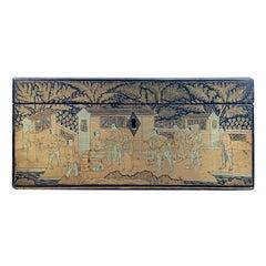 19th Century Chinese Chinoiserie Box, circa 1840