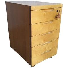 Alvar Aalto / Artek 296 Lacquered Birch Chest of Drawers or Filing Cabinet