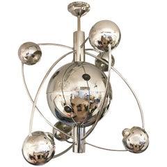 Orbital Midcentury Chandelier