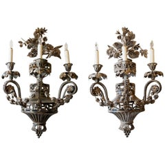 Pair of 19th Century French Sconces