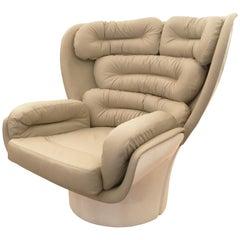 """""""Elda"""" Swivel Chair by Joe Colombo, Italy, 1963"""