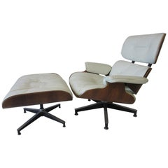Eames Rosewood 670 Lounge Chair / Ottoman for Herman Miller
