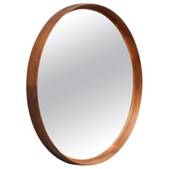 Uno & Östen Kristiansson Wall Mirror in Teak