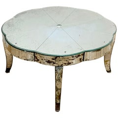 Period French or Italian Deco Mirrored Coffee Table