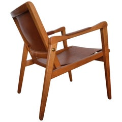 Axel Larsson Lounge Chair, Sweden, 1948