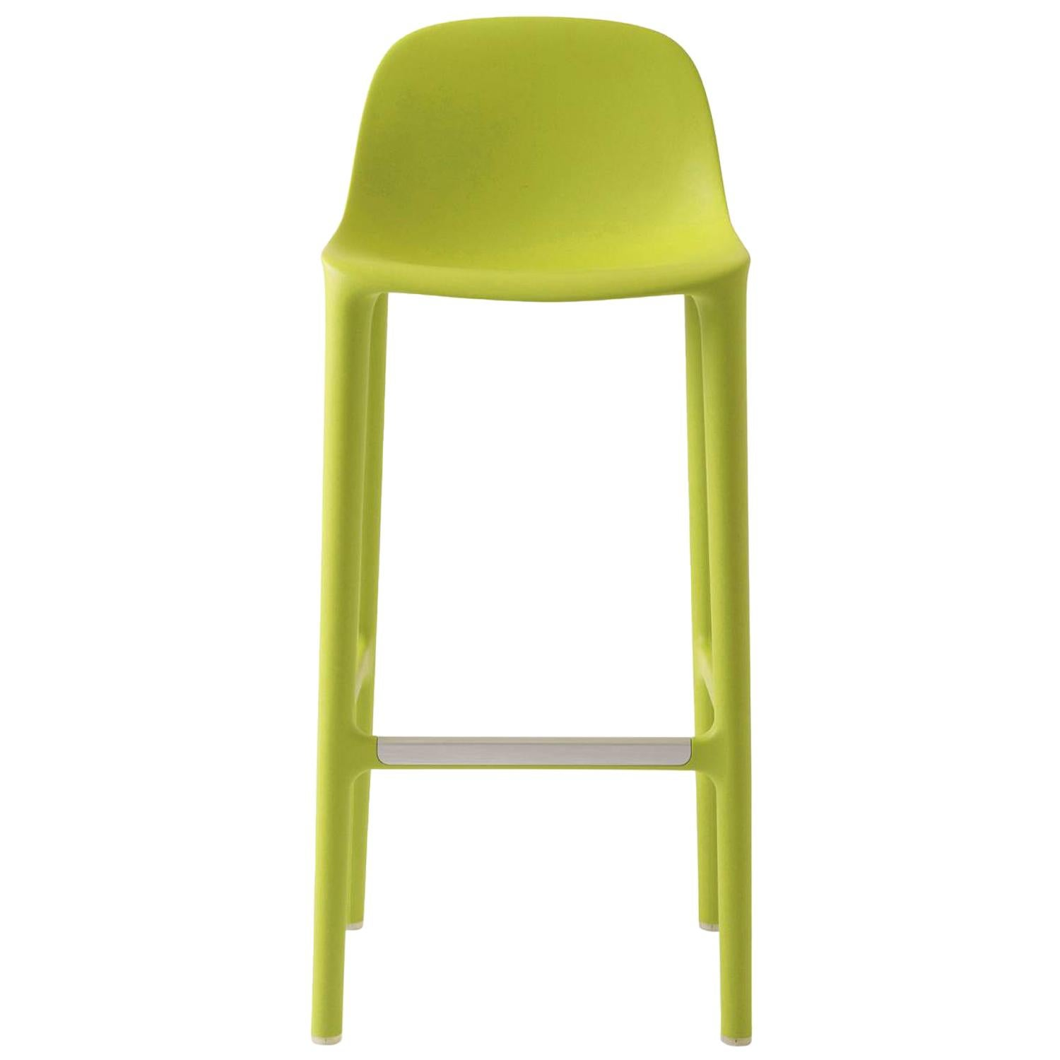 Emeco Broom Barstool in Green by Philippe Starck