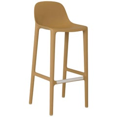 Emeco Broom Barstool in Tan by Philippe Starck