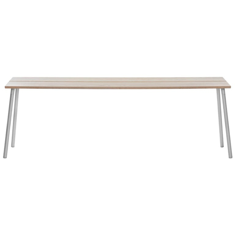 Remarkable Emeco Run Large Side Table In Aluminum And Ash By Sam Hecht Kim Colin Ncnpc Chair Design For Home Ncnpcorg
