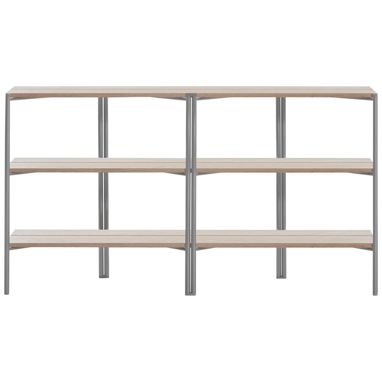 Emeco Run Shelf in Aluminum & Ash by Sam Hecht + Kim Colin