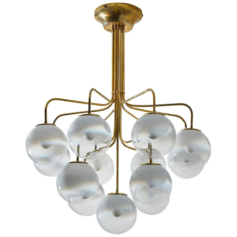 Chandelier by Angelo Mangiarotti for Candle