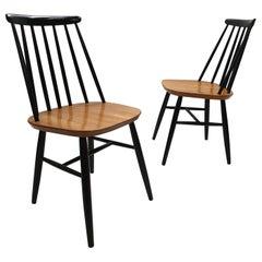 Pair of Dining Chairs by Ilmari Tapiovaara for Edsby Verken, 1960s