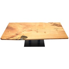 Kauri Wood with Resin Dinning Table