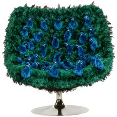 Peacock Armchair Swivel in Limited Edition