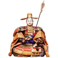 Toyomi Hideyoshi Japanese Doll Meiji Era