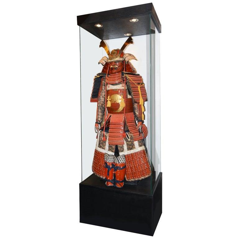 Samuraï Armor Ka-To Crest Dai-Myo Family For Sale