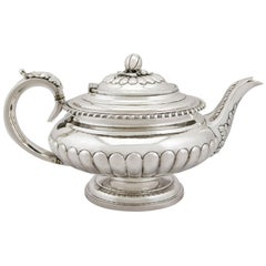Antique Sterling Silver Teapot, 1821