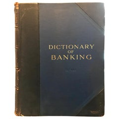 Dictionary of Banking by William Thomson, circa 1911