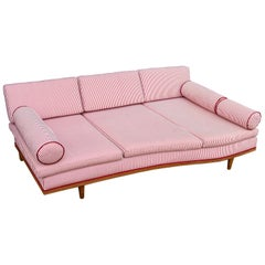 Trapezoidal Three-Seat Daybed Sofa, Switzerland, circa 1950